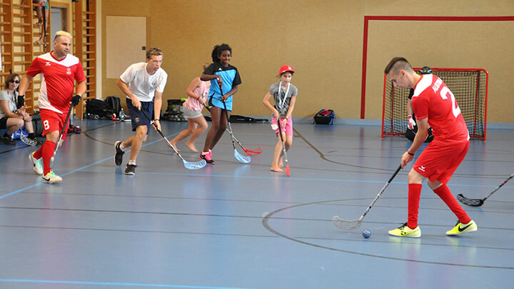 Floorball - Wie Hockey nur anders